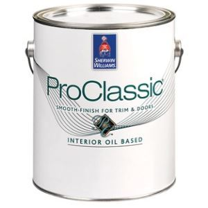 Proclassic Alkyd Interior Enamel The Sherwin Williams Company Sweets