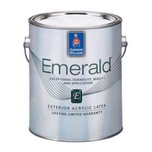 Emerald Exterior Acrylic Latex Paint – Sherwin-Williams