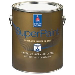 Superpaint Exterior Acrylic Latex The Sherwin Williams Company Sweets