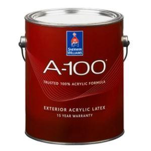A-100 Exterior Acrylic Latex – Sherwin-Williams Company - Sweets