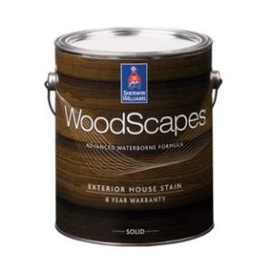 Woodscapes Exterior Acrylic Solid Color House Stain Sherwin Williams Company Sweets