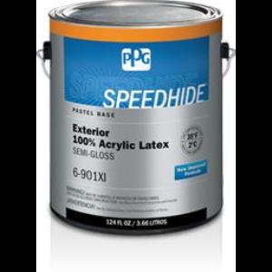 speedhide exterior 100 acrylic latex semi gloss paint ppg paints. Black Bedroom Furniture Sets. Home Design Ideas