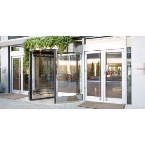 ASSA ABLOY Entrance Systems - Besam RD Series Three- and Four-Wing Compact Revolving Doors  sc 1 st  Sweets Construction & Besam RD Series Three- and Four-Wing Compact Revolving Doors \u2013 ASSA ...
