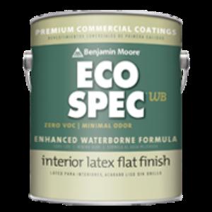 Eco Spec Wb Paint Eggshell 374 Usa Benjamin Moore Co Sweets