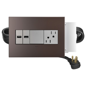 Duplex Receptacle With Usb Ports
