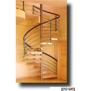 Stairways, Inc.  Stainless Steel Spiral Stairs