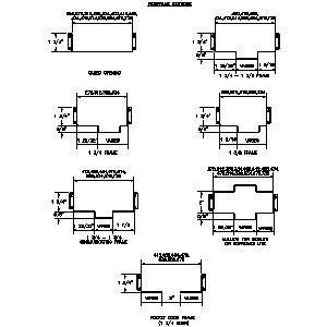 Cad Door Details amp MDF Timber Dwg Block Mdf