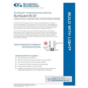 SunGuard IS 20 Flyer-Guardian Industries Corp.