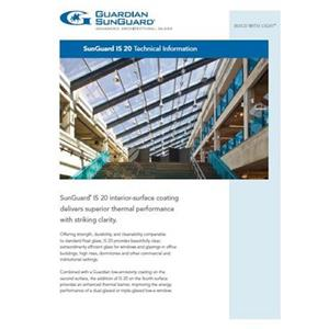 SunGuard IS 20 Technical Information-Guardian Industries Corp.