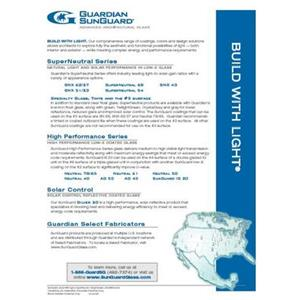SunGuard Product Summary Flyer-Guardian Industries Corp.