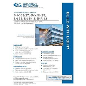 SunGuard SuperNeutral Series Flyer-Guardian Industries Corp.