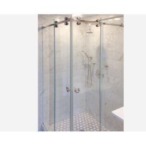 10 28 80 Crl Deluxe Serenity Series Sliding Shower Door