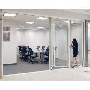 C R Laurence Co Inc 10 20 00 Crl Monterey Bi Folding Gl Wall Office System
