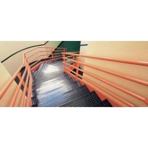 Burke Flooring   Burke Rouleau Stair System   Rubber Tile, Treads, And  Risers