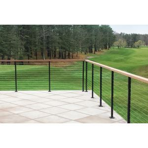 Atlantis Rail Systems   Spectrum System   Stainless Steel Square Railing  With Cable Infill Option
