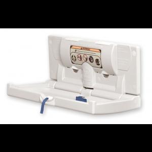 DryBaby™ ABC-300H Horizontal Polyethylene Baby Changing Station-World Dryer