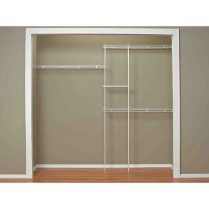 Fixed Mount Ventilated Wire Shelving Systems Closetmaid Sweets
