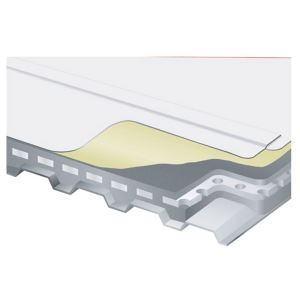 Lightweight Insulated Cellular Concrete Roof System