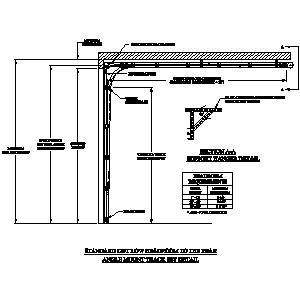 Amarr garage doors cad construction building materials for Rear garage door