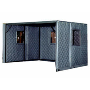 Machine Enclosures Absorptive Noise Barrier Quilted
