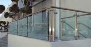 grs structural glass railing system c r laurence co inc sweets