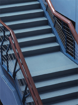 Endura Round and Square - Rubber Stair Treads and Risers