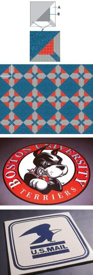 SpectraJet Custom Art, Logos, and Patterns for Flooring
