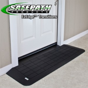 EZ Edge™ Transition Wheelchair Ramps – ADA Threshold Ramps