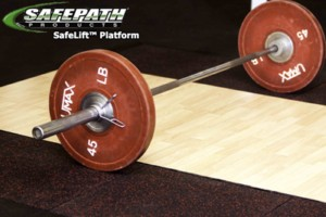 SafeLift™ Platform - Crossfit Weightlifting Platform