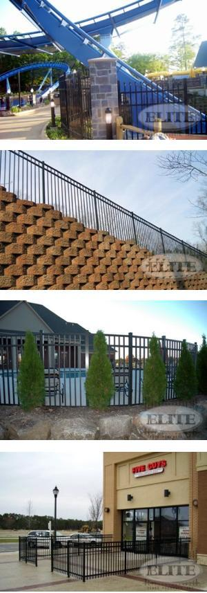 Commercial Grade Aluminum Fences & Gates