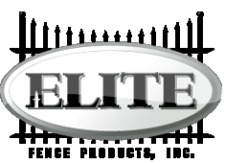 Sweets:Elite Fence Products, Inc.