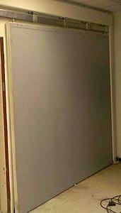 Radiation Shielded Sliding Industrial Doors
