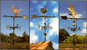 Crosses, Finials, Weathervanes