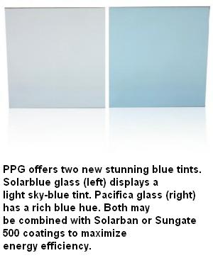 Solarblue® Tinted Glass