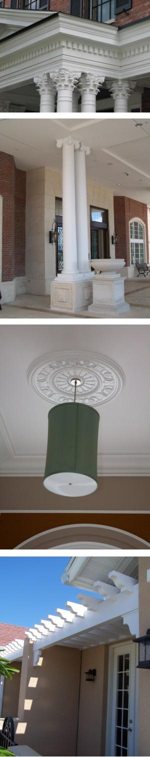 Decorative Moulded Millwork Products