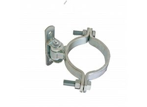 "CI2053 / 6"" Round Bolt-On Badass Gate Hinge"
