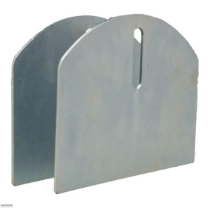 """CI2160 / 6"""" Hardcore Carriage Plates for Gate Wheels"""