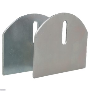 "CI2140A / 4"" Aluminum Hardcore Plates for Gate Wheels"