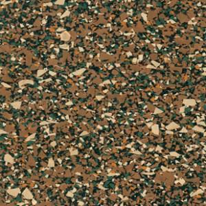 Reztec Rubber Flooring - Pecan