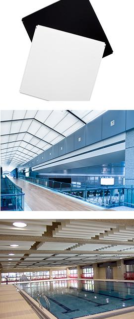 Silk Metal Ceiling and Wall System