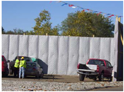 Noise S.T.O.P.™ Temporary Exterior Noise Barrier