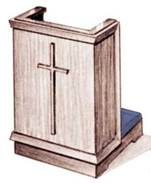 Prayer Desks