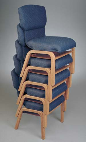 Model 90 Stackable Wood Chairs
