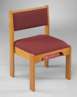 Model T041 Stackable Wood Chairs